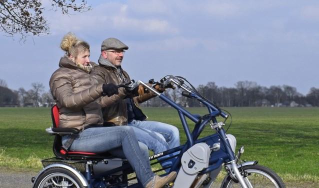 Onder ouderen is behoefte om weer te fietsen.