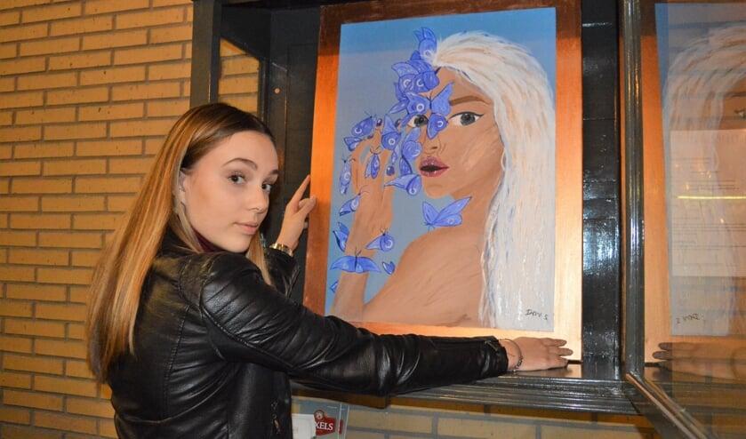 Demi Jennifer Pichel plaatst haar doek in de Burgerwissellijst