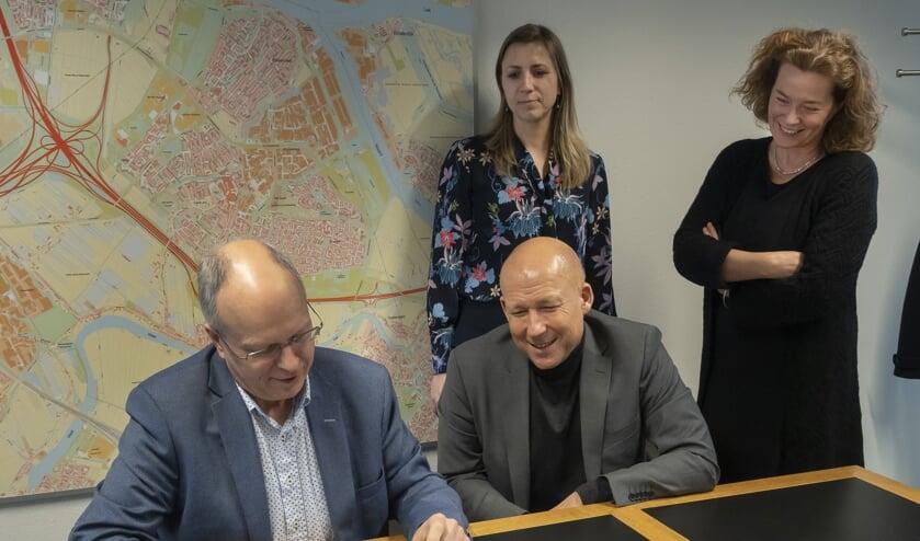 Volbregt Smit zette zijn laatste handtekening als wethouder