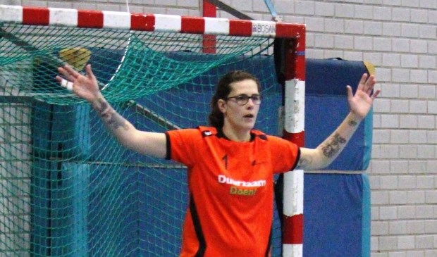 Chantal Daalder speelde een sterke wedstrijd