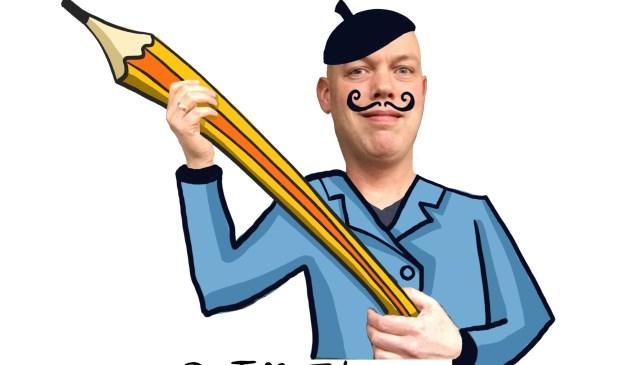 De Toffe tekenaar komt weer naar de Speelfabriek. Foto: Denkschets.nl