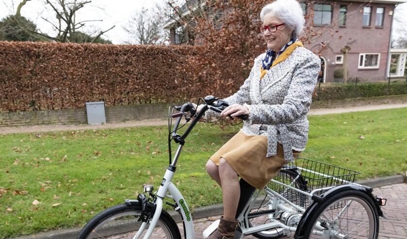 Een driewielfiets kan voor mensen die zich minder veilig voelen op een fiets een uitkomst bieden.