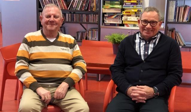 Wim Amez (links) en Rob Kluwen zijn de beheerders van wijkcentrum Portland