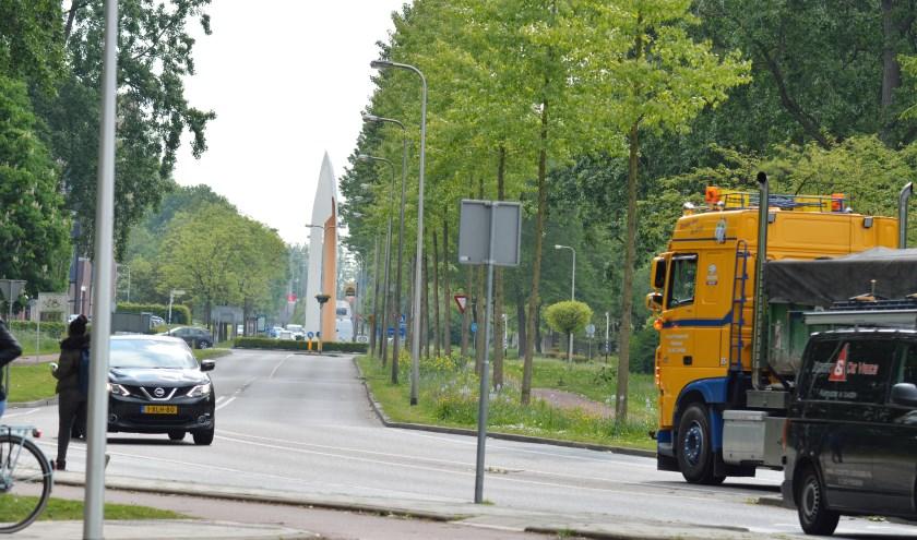 Wijkbewoners zien vaker vrachtwagens op de Populierenlaan