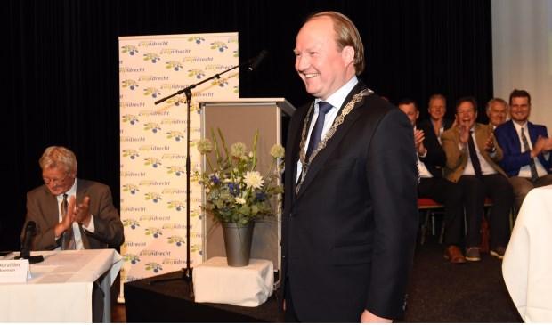 Woensdag is Hein van der Loo (48) geïnstalleerd als de nieuwe burgemeester.
