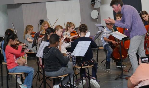 De jonge muzikanten van Strijk! zijn te horen op het ZomerFeest. Foto: CultuurLocaal