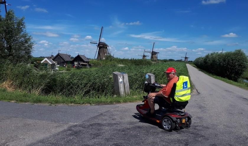 Scootmobieltochten gaan weer naar de mooiste plekjes in de regio
