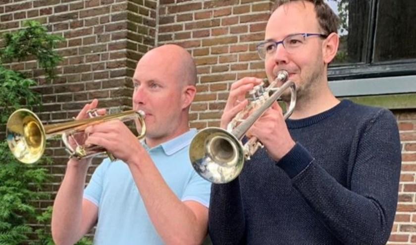 Pascal van der Velde en Matthijs Valkenwoud