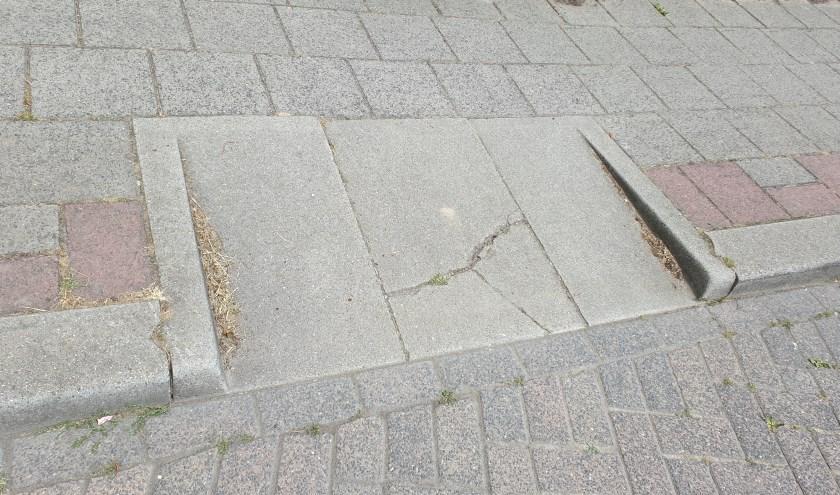 Kapotte stenen worden weer eerder vervangen