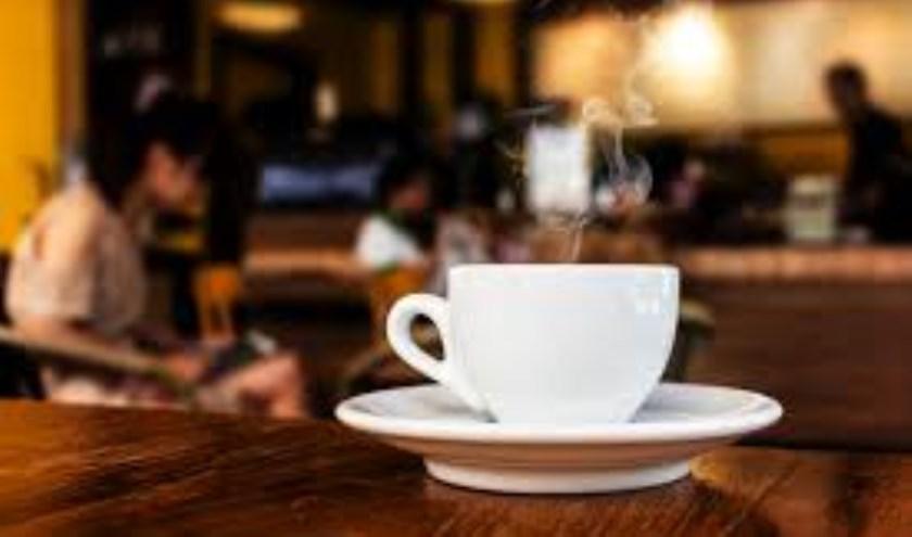 De koffie staat klaar!