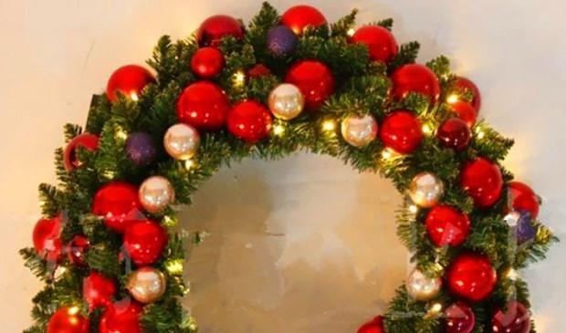 Versier je huis met een zelfgemaakte kerstguirlande hart van nijverdal