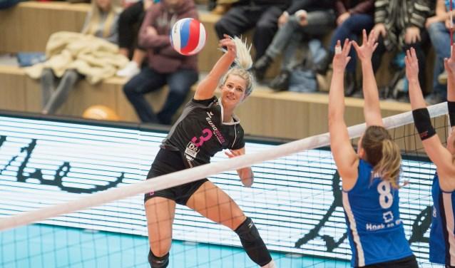 Judith Kamphuis in actie