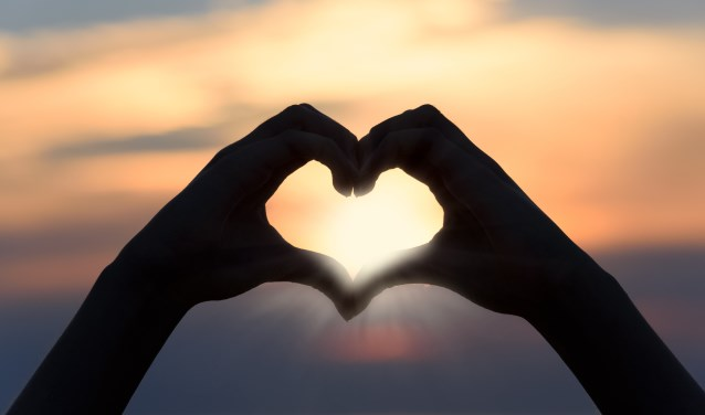 handen maken hart