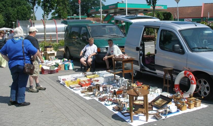 kofferbakverkoop bij ter Huurne