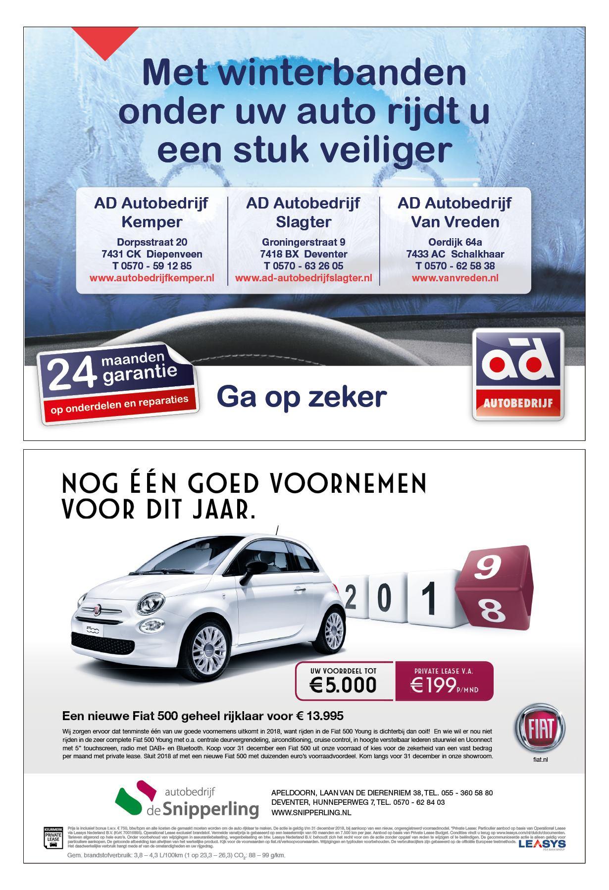 Autopaper Deventer 18 December 2018