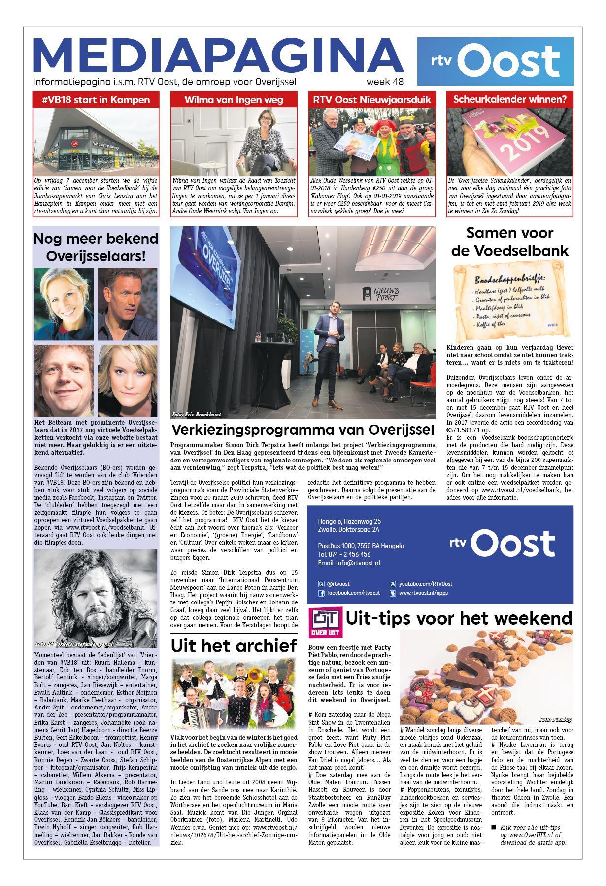 56c34176a4e095 Hart van Rijssen - Nijverdal 30 november 2018