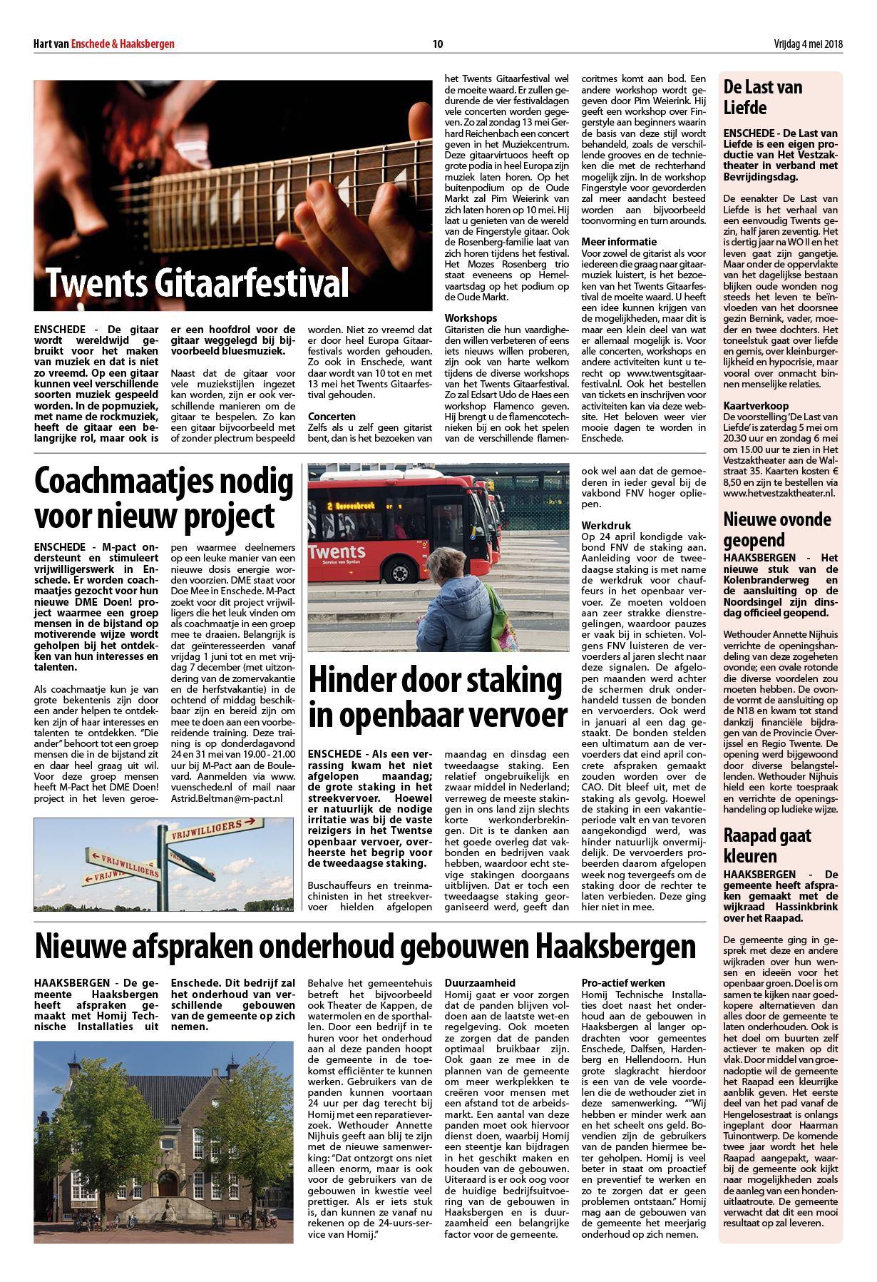 Hart Van Enschede Haaksbergen 4 Mei 2018