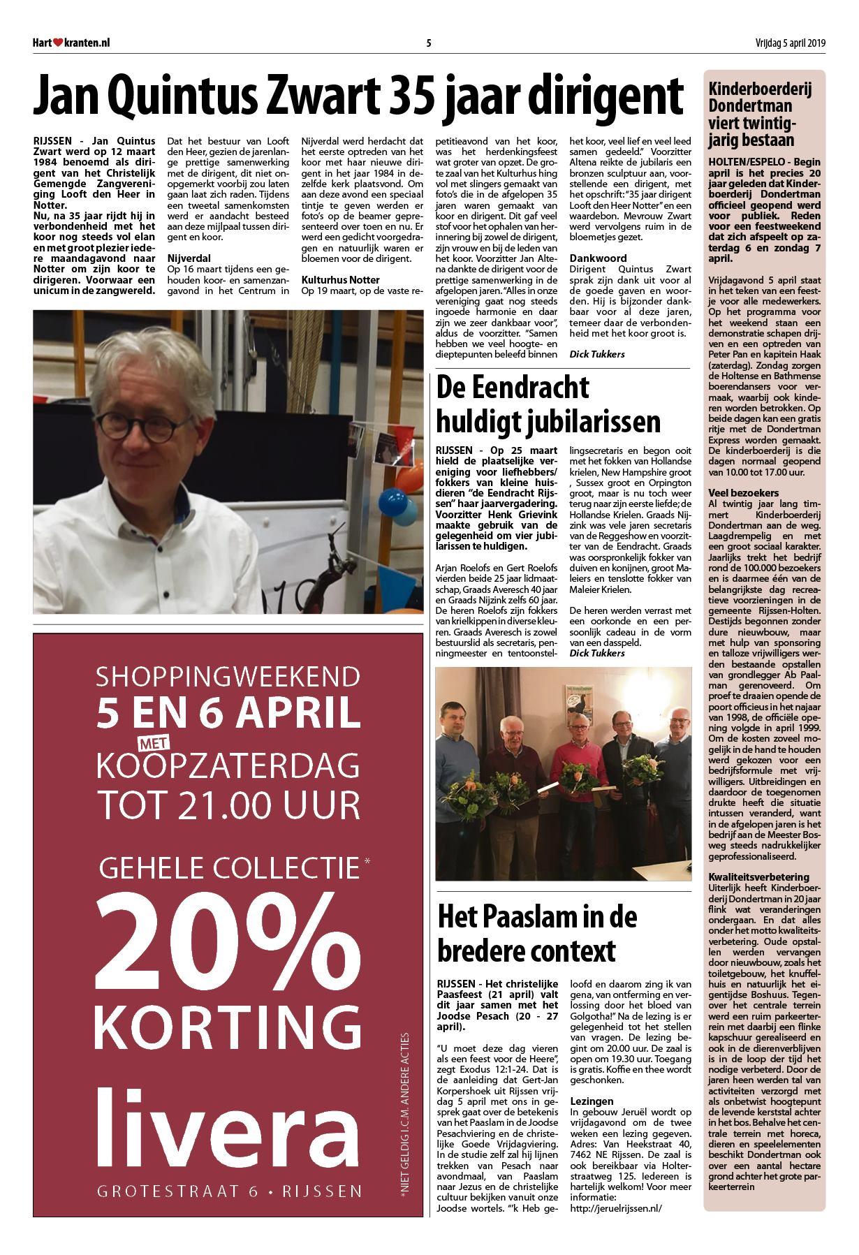70de6430fee219 Hart van Rijssen - Nijverdal 5 april 2019