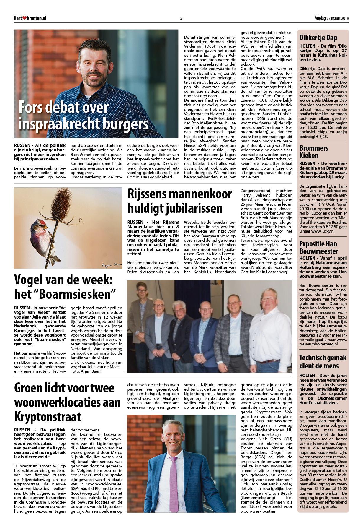85ba4924ebab06 Hart van Rijssen - Nijverdal 22 maart 2019