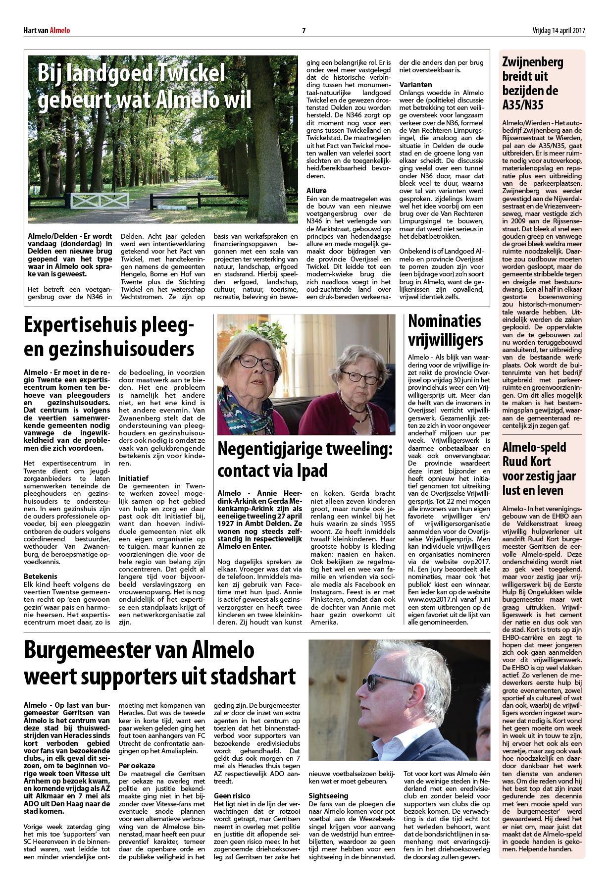 1d7219a9611 Hart van Almelo - Wierden 14 april 2017