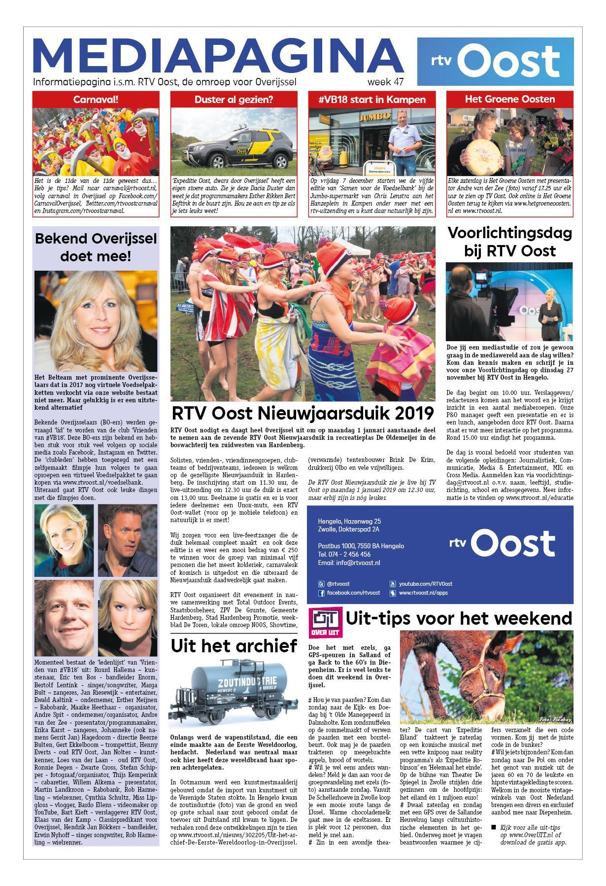 Hart Van Oldenzaal 23 November 2018