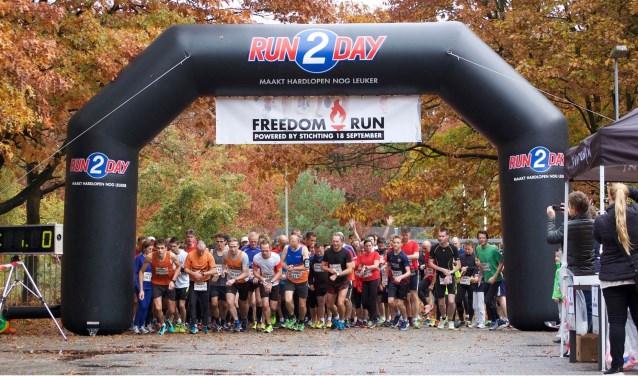 Vorig jaar werd de eerste editie van de Freedom Run gehouden.