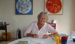 Hermine van Schuppen-van den Bosch beschrijft in haar vierde boek haar innerlijke strijd tegen ziekte. (Foto: Martin Brink)