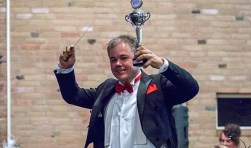 Sjaak Teuwissen werd vorig jaar Maestro. foto