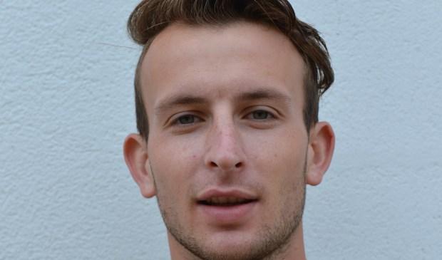Rik Bekken van Terborg scoorde eenmaal en staat nu gedeeld vierde. (foto: Gerrit van Dijken)
