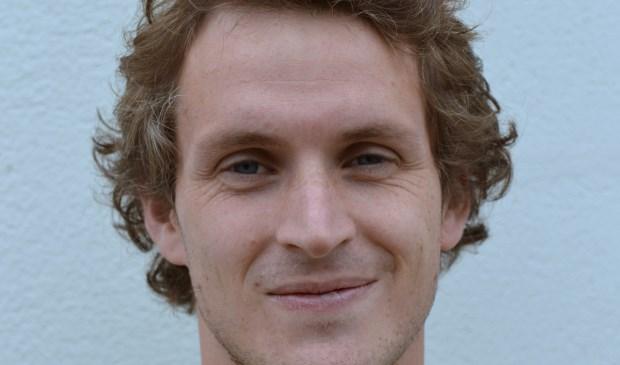 Cas Bekken van VV Terborg vond viermaal het doel. (foto: Gerrit van Dijken, Magerago Foto)