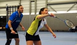 165 badmintonners streden dit weekeinde om de regiotitels (Foto: Roel van Deursen).