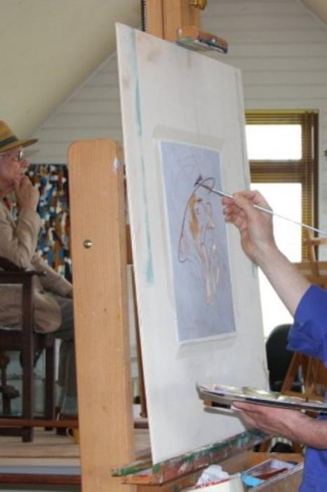 Activiteit Cursus Portretschilderen De Havenloods