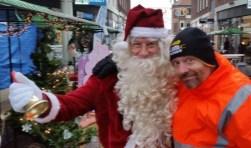 De kerstmarkt op winkelcentrum Twekkelerveld wordt dit jaar groter dan ooit.