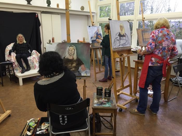 Activiteit Cursus Portretschilderen Met Olieverf Streekblad