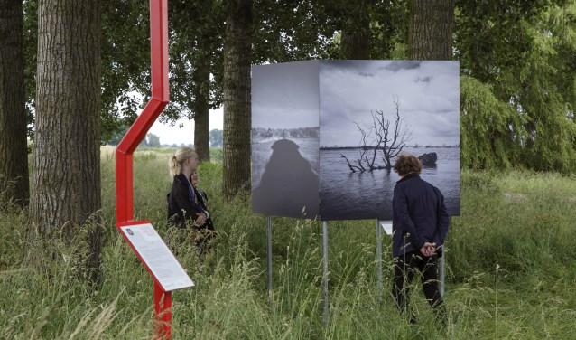 Wiesje Peels maakte dit jaar de fotoserie Fluxum voor de kunstroute in het buitengebied van de gemeente Oss.
