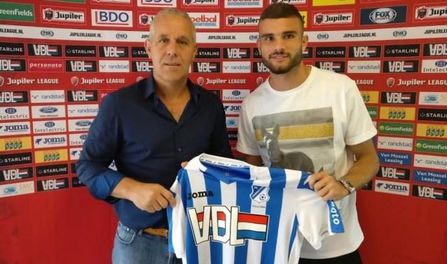 Rai Vloet komt op huurbasis over naar FC Eindhoven.
