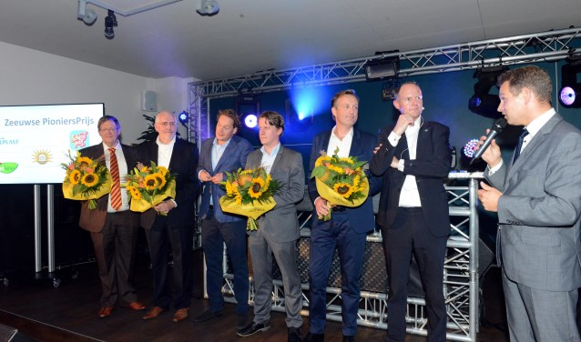 De genomineerden voor de Zeeuwse Pioniersprijs werden afgelopen week bekend gemaakt tijdens de Zeeuwse Handelsmissie in Den Haag. FOTO: PR