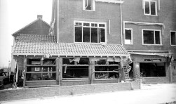 Hotel Zuid in september 1944.