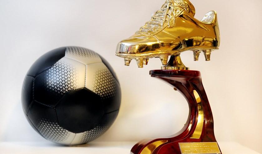 Gouden Schoen. foto: Roel Kleinpenning