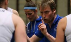 Matt van Wezel blijft coach. (Foto: Jeroen de Bruin)