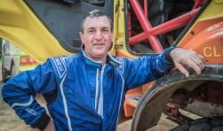 Bijna zes uur hadden Gerrit van Werven, Gerrit Zuurmond en Henk Schuiling nodig voor de proef van 140 kilometer. De oorzaak daarvan was een kapotte turbo. foto: oto: Rallymaniacs