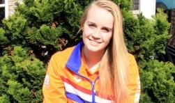 Zwemster Lisa Kruger uit Harderwijk
