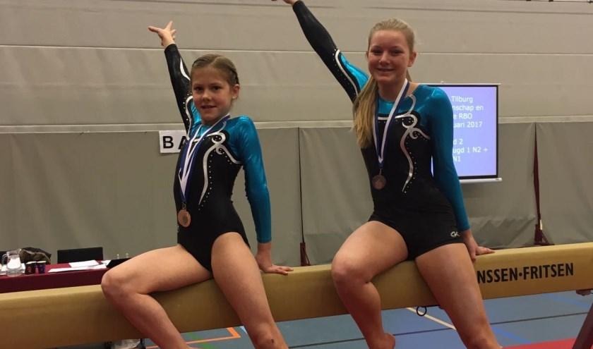 Pien Sengers en Sophie Nagtegaal wonnen afgelopen weekend elk een bronzen medaille.