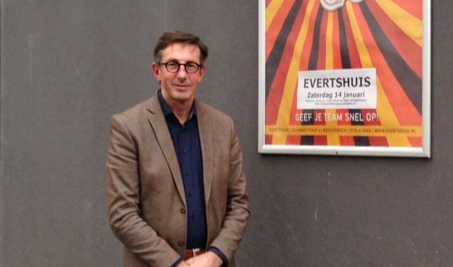 Leo Hörnig is sinds anderhalf directeur van het Evertshuis en houdt zich beter met beleid, uitvoering en lopende zaken. De afgelopen tijd lag de focus op de organisatie, nu is het tijd om het aanbod aan theatervoorstellingen, culturele projecten en arrangementen te laten groeien.