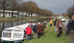 Provinciale Staten brachten eerder al een bezoek aan het Apeldoorns kanaal als voorbereiding op het Regiodebat dat in 2009 werd gehouden.