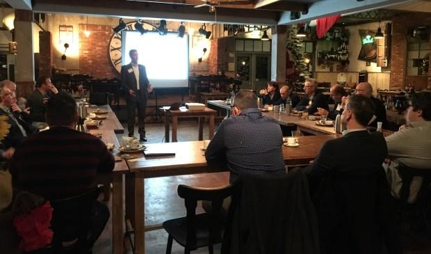 Zakelijke ontbijtclub 'Business Network International' (BNI) chapter; BNI Lievelde, stelt zich op 25 januari voor bij Locoin Lievelde. Foto: PR