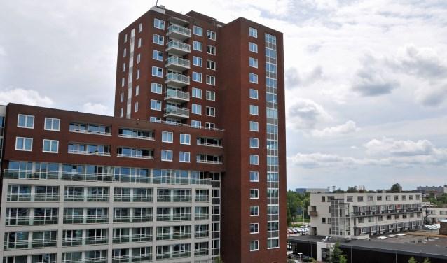 Hospice IJsseloever komt in de M-toren naast de Vijverhof in Capelle aan den IJssel. De ruimtes worden nu verbouwd. (Foto: Cees Grandia)