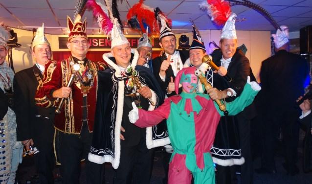 Prinsentreffen 2017 bij Mierlose Spruwwejagers (foto Jos Lenssen)