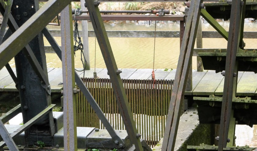 Een deel van de ruis van de Opwettense watermolen in Nuenen.