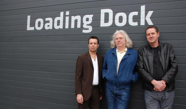 Van links af: Dirk van Coevorden, Hans Offringa en Klaas Vermeulen. (foto: Cobie Uiterwijk)